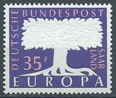 1957 EUROPA SARRE 35 F MNH ** - EV - Europa-CEPT