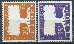1957 EUROPA SARRE MNH ** - EV - Europa-CEPT
