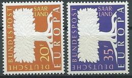 1957 EUROPA SARRE MNH ** - EV-2 - Europa-CEPT