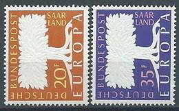 1957 EUROPA SARRE MNH ** - EV-3 - Europa-CEPT