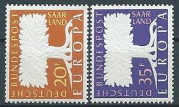 1957 EUROPA SARRE MNH ** - EV-4 - Europa-CEPT