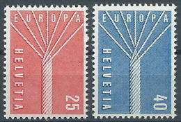 1957 EUROPA SVIZZERA MNH ** - EV-2 - Europa-CEPT