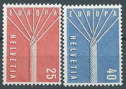 1957 EUROPA SVIZZERA MNH ** - EV-3 - Europa-CEPT