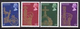 GREAT BRITAIN GB - 1978 CORONATION ANNIVERSARY SET (4V) FINE MNH ** SG1059-1062 - 1952-.... (Elizabeth II)