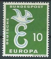 1958 EUROPA GERMANIA 10 P MH * - EV-2 - Europa-CEPT