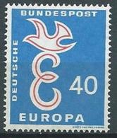 1958 EUROPA GERMANIA 40 P MNH ** - EV - Europa-CEPT