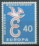 1958 EUROPA GERMANIA 40 P MNH ** - EV-2 - Europa-CEPT