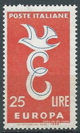 1958 EUROPA ITALIA 25 LIRE MNH ** - EV - Europa-CEPT