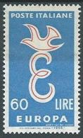 1958 EUROPA ITALIA 60 LIRE MH * - EV - Europa-CEPT