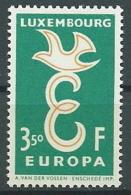1958 EUROPA LUSSEMBURGO 3,50 F MNH ** - EV - Europa-CEPT