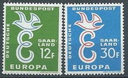1958 EUROPA SARRE MNH ** - EV-3 - Europa-CEPT