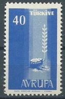 1958 EUROPA TURCHIA 40 K MNH ** - EV - Europa-CEPT