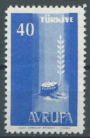 1958 EUROPA TURCHIA 40 K MNH ** - EV-4 - Europa-CEPT