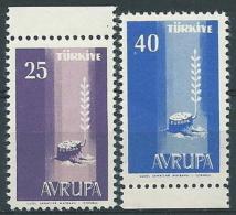 1958 EUROPA TURCHIA MNH ** - EU8824 - Europa-CEPT