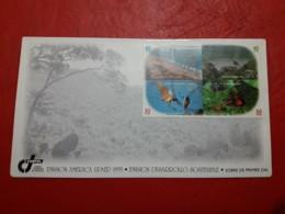 La Costa Rica FDC Une Série L'Amérique A Développé Sostenib - Protection De L'environnement & Climat