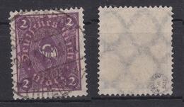 Deutsches Reich 191 Gestempelt Geprüft Infla Berlin, Used #T244 - Deutschland