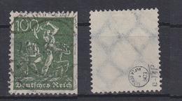 Deutsches Reich 187a Gestempelt Geprüft Infla Berlin, Used #S982 - Deutschland