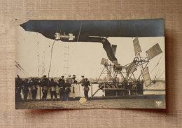 Airship Parseval In Dresden Until 1917 A - Dirigibili