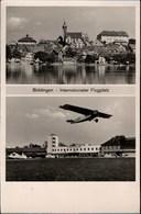 ! 1932 Alte Ansichtskarte Böblingen Internationaler Flugplatz, Junkers Flugzeuge, Airport - Aerodrome