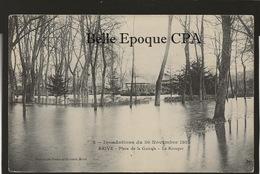 19 - BRIVE - Inondations 1910 - #2 - Place De La Guierle - Le Kiosque ++++ Bessot Et Guionie, Brive +++ - Brive La Gaillarde