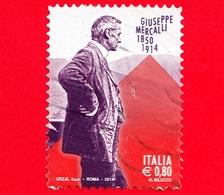 ITALIA - Usato - 2014 - Centenario Della Morte Di Giuseppe Mercalli - 0,80 - 6. 1946-.. Republik