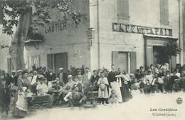 11)  TUCHAN  -  CAFE  LAUTIER  CAFE De La PAIX - France