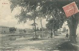 11)   SEGALA - Prés LABASTIDE  D' ANJOU - Vue Sur Le Canal - France