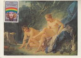 Carte  Maximum  1er  Jour   FRANCE   Année  Internationale  De  La  FEMME  1975 - Cartes-Maximum