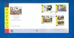UGANDA FDC First Day Of Issue 2011 Empower Against Tryponosomiasis #109 - Uganda (1962-...)