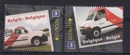 Belgique 2013 COB 4312/13 XX Camionnettes De Bpost. Europa - Belgique