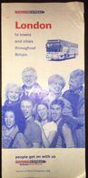 Britain London National Express 24 May - 26 September 1999 Timetable - Europa