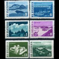 BULGARIA 1962 - Scott# 1230-34A Scenes Set Of 6 MNH - Bulgaria