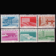 BULGARIA 1963 - Scott# 1267-73 Resorts Set Of 6 MNH - Bulgaria