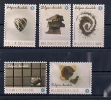 Belgique 2013 COB 4315/19 XX Le Chocolat Belge. Ils Sentes Et Ils Goutes Le Chocolat - Neufs