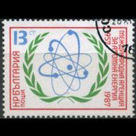 BULGARIA 1987 - Scott# 3280 Atomic Energy Set Of 1 CTO - Bulgaria