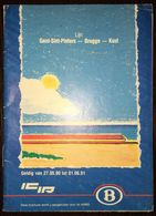 Belgium Railway - Timetable 27 May 1990 - 1 June 1991 - Europa