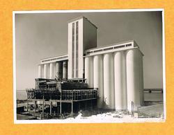 D17. LA PALICE. CONSTRUCTION DU SILO. Photo. MORILLON . LA ROCHELLE. - Lieux
