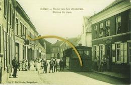 Rillaar - Rillaer : Statie Van Den Stoomtram  ( !!!!!!!!!!!!!!!   Copy Foto Van Origineel !!!!!!!!!!!!!!!!! ) - Belgique