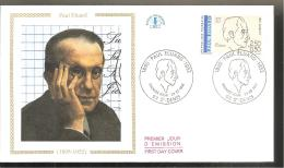 FDC 1991   PAUL ELUARD - 1990-1999