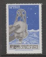 TIMBRE NEUF DU CHILI - OBSERVATOIRE DE LA SILLA N° Y&T 401 - Astronomie