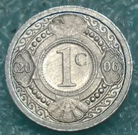 Netherlands Antilles 1 Cent, 2006 - Antilles Neérlandaises