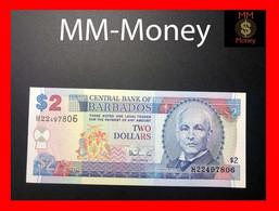BARBADOS 2 $ 1997 P. 54 B  UNC - Barbados