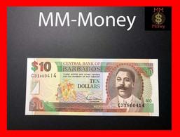 BARBADOS 10 $  2000  P. 62  UNC - Barbados