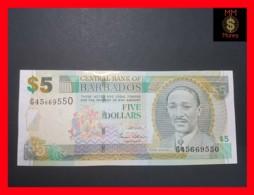 BARBADOS 5 $  2007  P. 67 A  UNC - Barbados