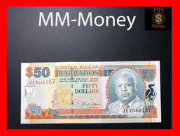 BARBADOS 50 $  2000  P. 64  UNC - Barbados