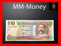 BARBADOS 10 $  2007  P. 68 B  UNC - Barbados