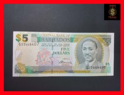BARBADOS 5 $ 2012  P. 67 C  UNC - Barbados