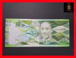 BARBADOS 5 $  2013  P. 74  UNC - Barbados (Barbuda)