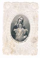Ancien  Canivet - Dentelle - ECOUTONS  JESUS  QUI NOUS APPELLE à LUI - ( Félix à Paris )  - 6039 - Religion & Esotérisme