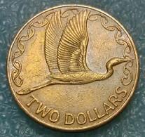 New Zealand 2 Dollars, 1999 - New Zealand